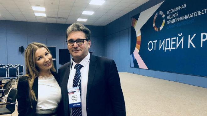 Компания «Франчайзинг-Интеллект» на Всемирной неделе предпринимательства в Санкт-Петербурге