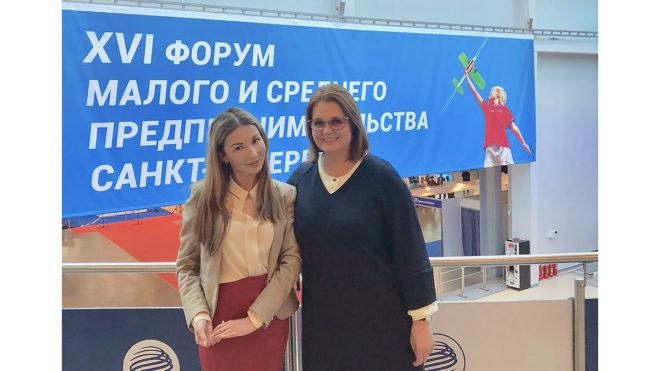 Социальный франчайзинг в рамках ежегодного Форума субъектов малого и среднего предпринимательства Санкт-Петербурга